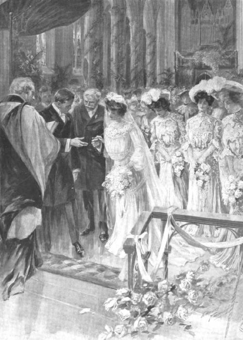 A June Wedding in Grace Church, New York, 1903