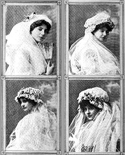 June Wedding Veils 1911