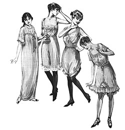 Styles in Lingerie and Kindred Lines April 1915