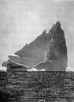 A Ship Might Just as Well Strike a Rock: A Giant Iceberg, Akin to That Which Caused the Sinking of the RMS Titanic.