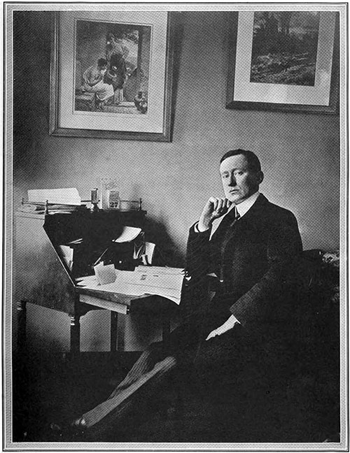 Signor Guglielmo Marconi - the Scientist Whose System of Telegraphy Brought Help to the Titanic and News of the Appalling Disaster That Overtook Her.