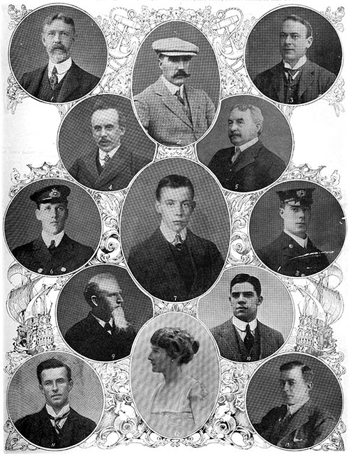 Notable Titanic Passengers, Saved and Lost.