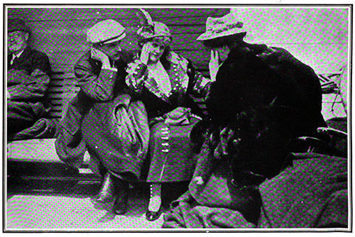 Rescued Titanic Passengers Aboard the Carpathia