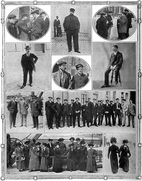 Survivors of the RMS TitanicDisaster in England