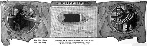 The Lifeboat and Its Story - Invented by a Coach-Builder of Long Acre, Lionel Lukin's Insubmersible Boat.