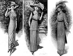 Three Fashions on the Titanic