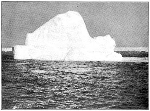 An Iceberg on the Labrador Coast.