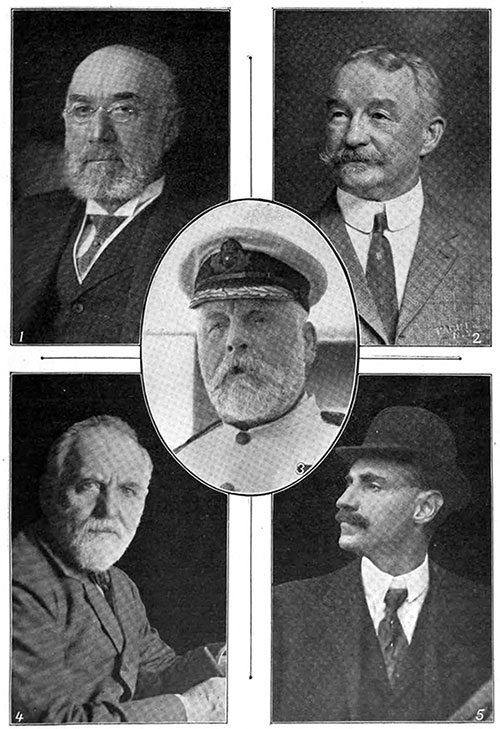 Prominent Victims of the Titanic Disaster.