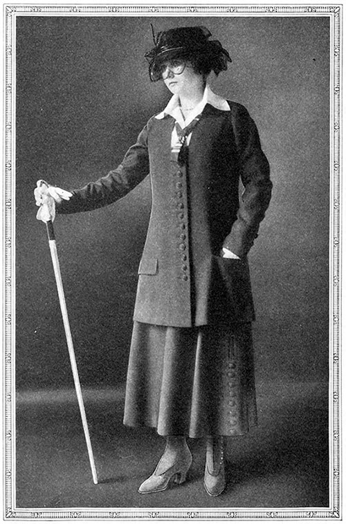 Lady Duff-Gordon's Famous 'Curate' Costume