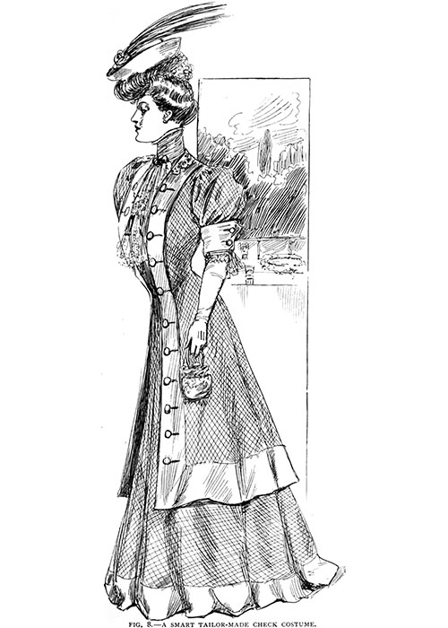 Figure 8: A Smart Tailor-Made Check Costume