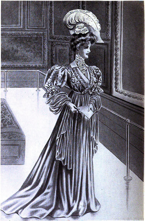 Figure 5: Charming Academy Gown