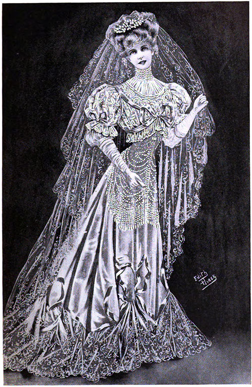 Figure 6: Beautiful Wedding Gown from Konski's