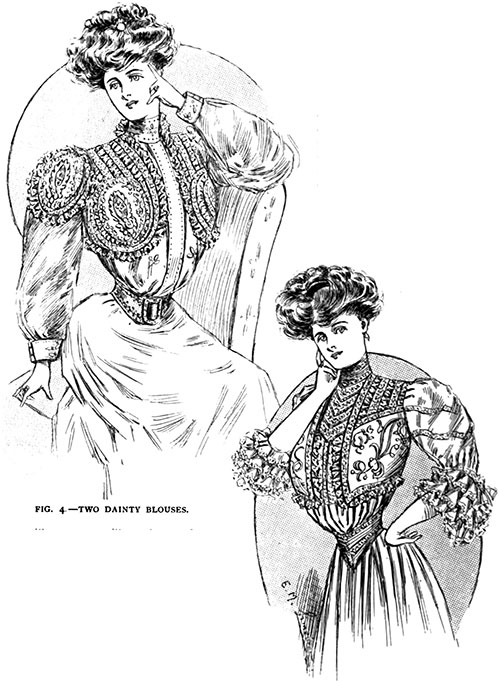 Figure 4: Two Dainty Blouses