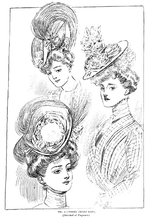Figure 1: Three Smart Hats from Paquin's