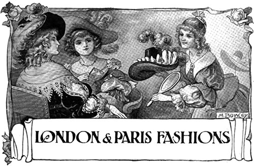 London & Paris Fashions May 1906