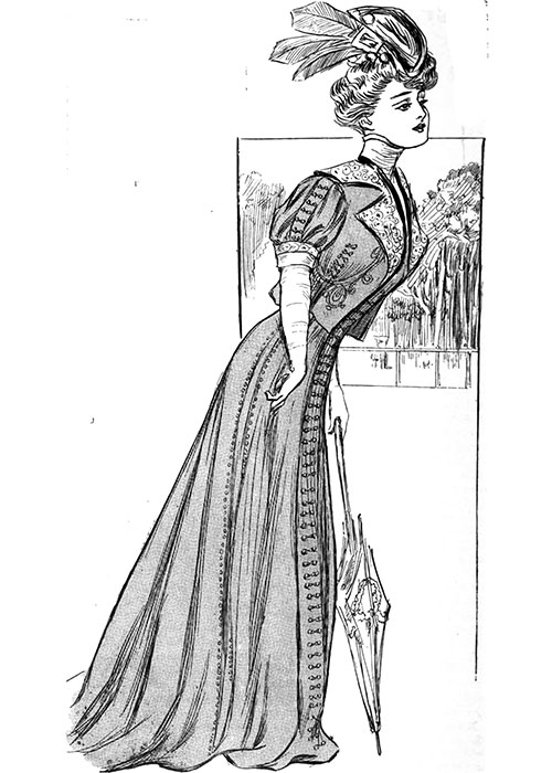 Figure 8: Cloth Dress for a Dull Day at Ascot