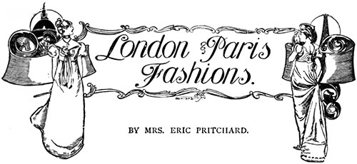London & Paris Fashions June 1906