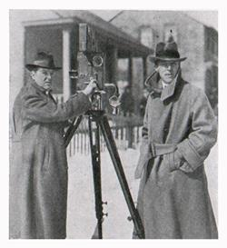 Griffith and Bitzer Shooting a Scene