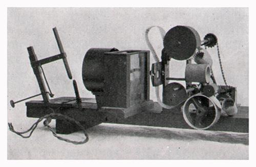 The Grandfather of Movie Projectors