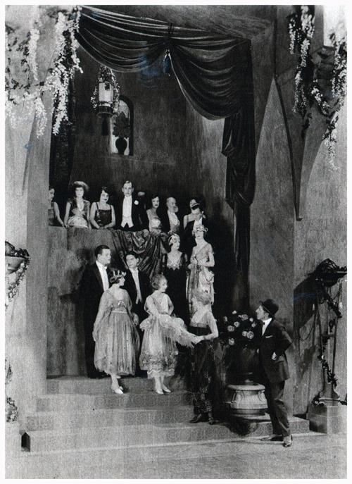 "A Ballroom Scene in ""Way Down East"""