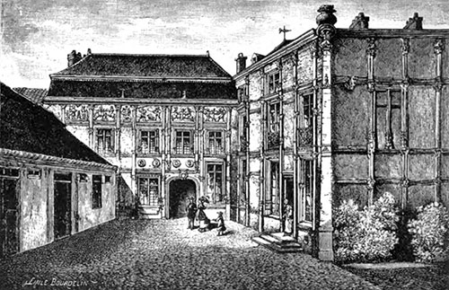 Residence of the Late Madame Clicquot-Ponsardin, Rheims