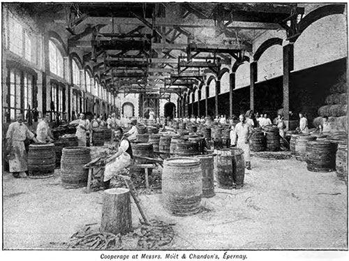 Cooperage at Messrs. Moet & Chandon, Epernay
