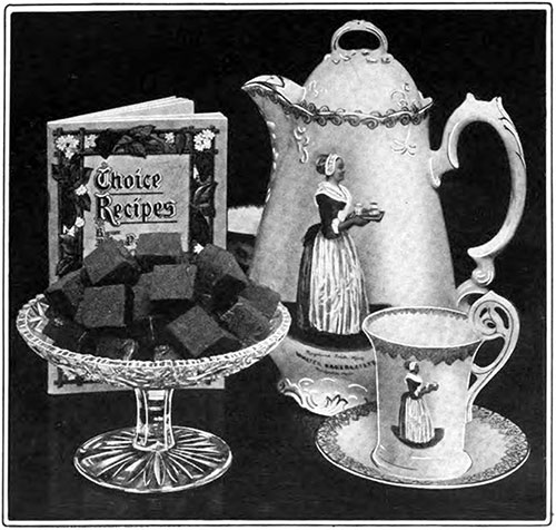 Baker's Cocoa and Chocolate - Choice Recipes © 1907