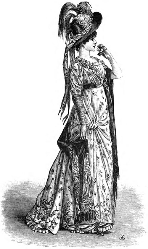 "Mme. Sarah Bernhardt in ""La Tosta"" Act i"
