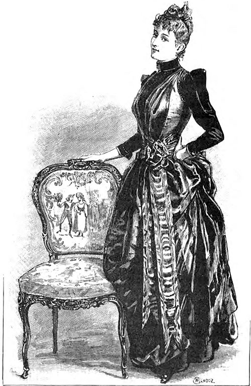 Costume from the Maison Doucet