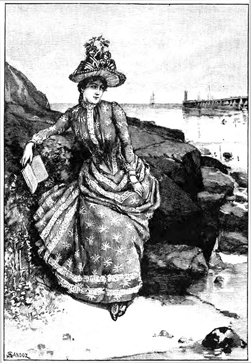 Seaside Costume designed by Mme. Rodrigues
