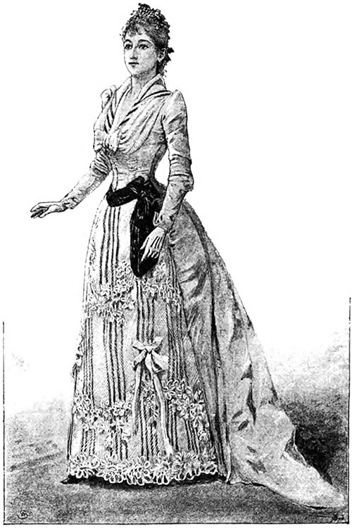 Dinner Dress from the Maison Laferrière