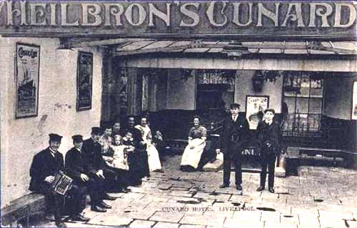 Heilbron's Cunard Immigrant Hotel, Liverpool 1908