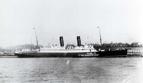 The RMS Laconia I