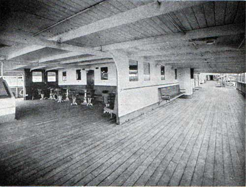 Cabin Promenade Deck and Veranda Café