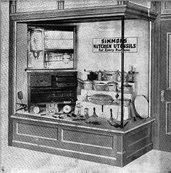 Lists of Kitchen Utensils - 1883