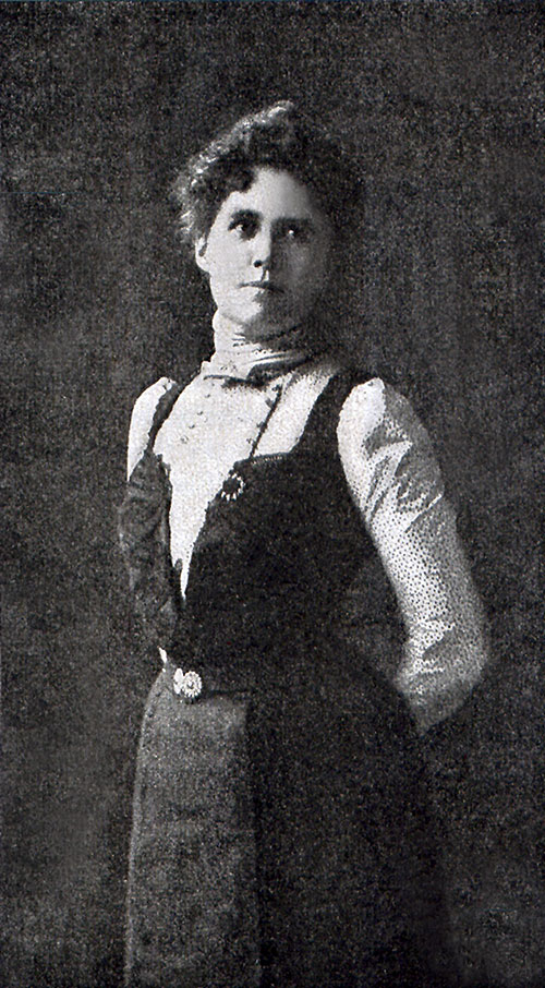 Helen Churchill Candee in 1901