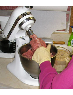 Mixing the Meat