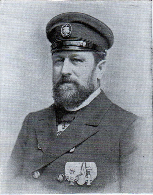 Captain Albers of the Fürst Bismarck