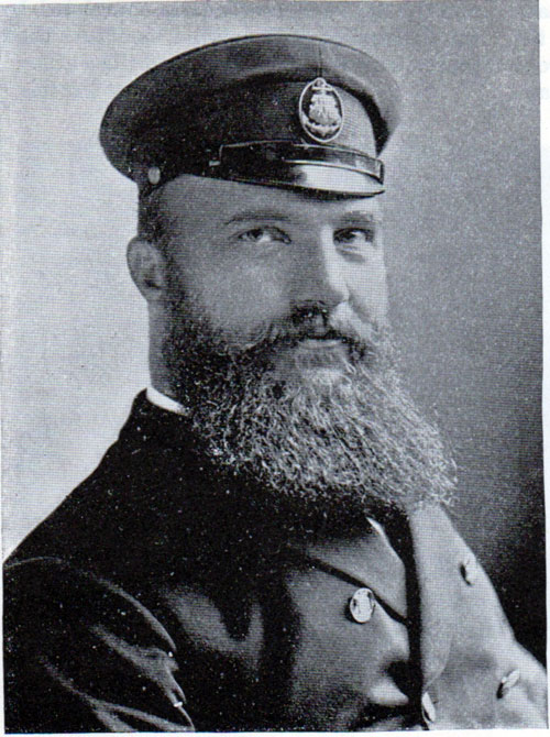 Captain Barends of the Augusta Victoria.