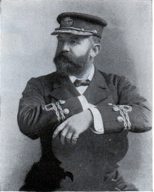 Captain Cameron of the Teutonic.