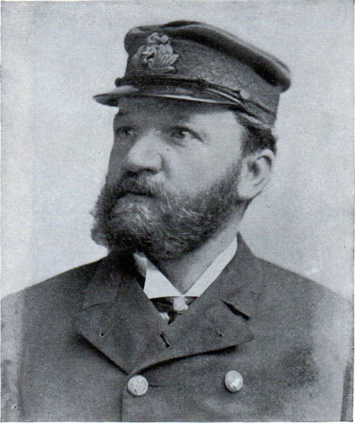 Captain McKay of the Lucania.