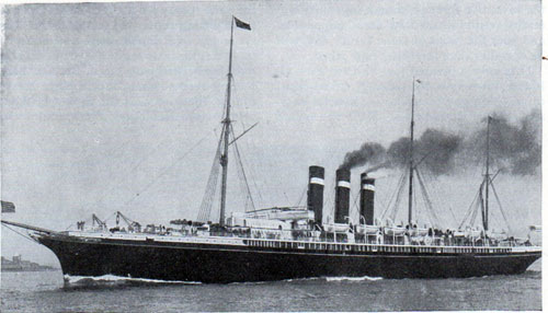 The American Line S. S. New York.