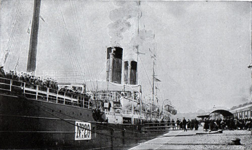 The Aurania as Transport Ship No. 20