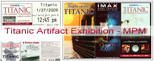 Titanic: The Artifact Exhibition at the Milwaukee Public Museum