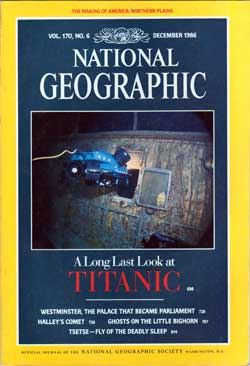 National Geographic, December 1986 - Titanic Collection
