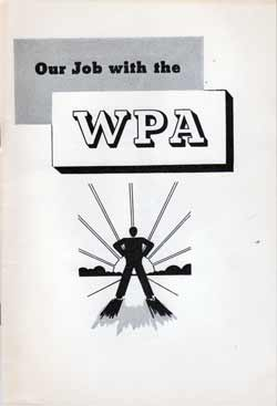 Our Job with the WPA - 1936 Brochure