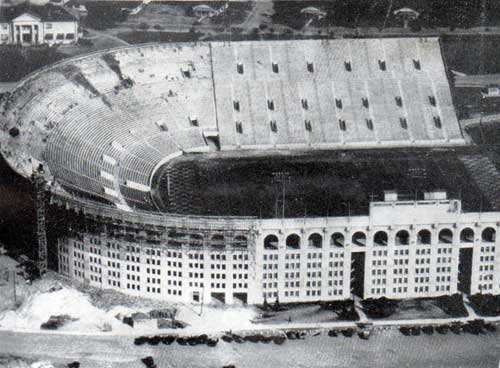 Stadium built by the WPA