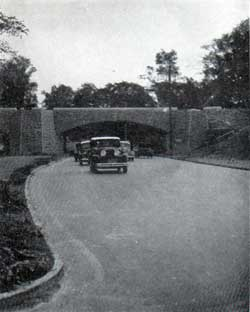 Motorists on Highways Built by the WPA