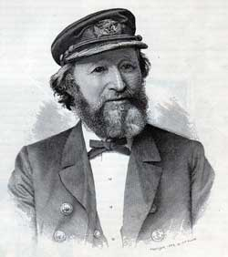 Captain Henry Parsell, R.N.R. 1889 - Captain of the Teutonic