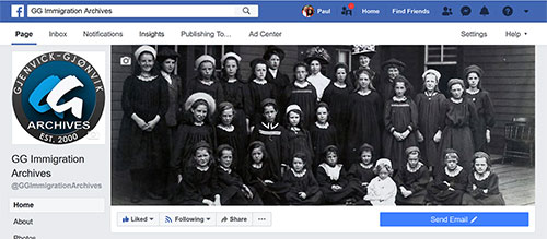 GG Archives Immigration Facebook Page